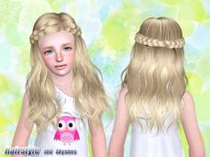 Skysims Hair Child 186