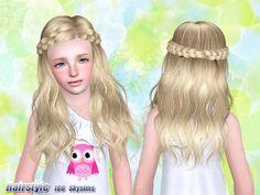 Skysims Hair Child 186