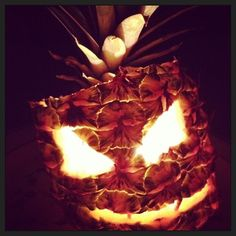 Pin for Later: These Pineapple O'Lanterns Will Make You Forget All About Pumpkins