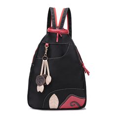 Women Canvas Backpack Girls Cute Rucksack Student School Book Bags  Worldwide delivery. Original best quality product for 70% of it's real price. Hurry up, buying it is extra profitable, because we have good production sources. 1 day products dispatch from warehouse. Fast & reliable...