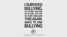Stop Bullying Quotes Stand Up  Stop Bulling  Pinterest