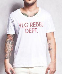 R$118,00 - Camiseta Vlg Rebel Dept.