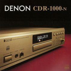 Re-Write (2000) | DENON CDR-1000 High End Audio, Hifi Audio, Digital Audio, Audiophile, Retro, Technology, Ads, Childhood Memories, Theater