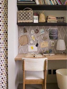 Diy dorm room crafts : DIY Pinboard