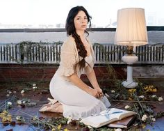 Jennifer Charles of Elysian Fields Torch Song, The Voice, The Past, White Dress, Fields, Lady, Music, Searching, Albums