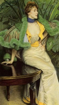 Princesse de Broglie - James Tissot 1895