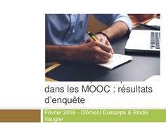 Résultats d'une enquête (qui sera analysée plus profondément dans le futur et sans doute reconduite) sur l'évaluation par les pairs dans les MOOC.