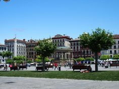 Plaza del Castillo Pamplona, Plaza, Dolores Park, Street View, Travel, Castles, Viajes, Destinations, Traveling