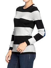Women's Graphic Crew-Neck Sweaters