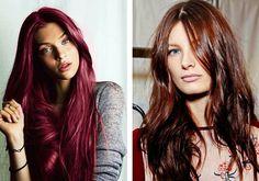 1000 id es sur le th me cheveux rouge acajou sur pinterest cheveux roux les couleurs des - Couleur auburn acajou ...
