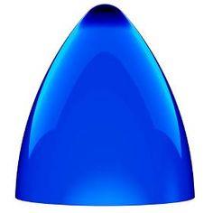 2682 1484199 Funk Pendelskærm Hvid/blå 75453206 - Cm splash of color Glass Pendant Shades, Glass Pendants, Glass Shades, Ceiling Pendant, Pendant Lighting, Rectangular Lamp Shades, Light Shades, Lights, Design