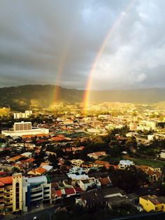 Today in this Morning in Tegucigalpa ! Spectacular !
