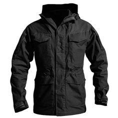 M65 UK US Army Clothes Casual Tactical Windbreaker Men Winter Autumn Waterproof Flight Pilot Coat Hoodie Military Field Jacket
