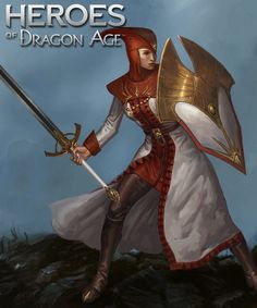 Divine Guard: The Chantry is not known for violence, but in times of blight 1* Divine Guard beseeches Andraste for the courage to take up arms.