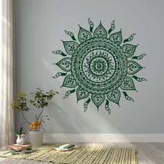 Mandala Wall Decal Sticker Mandala Vinyl Wall Decals от HomyVinyl