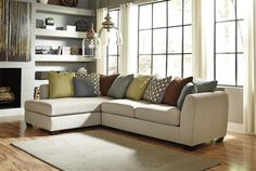 Casheral Contemporary Linen Living Room Set
