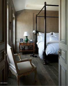 new home interior design: a french manor-style estate, arizona, Exeter, Floor Colors, Black Bedding, Awesome Bedrooms, Guest Suite, Home Bedroom, Master Bedroom, Estate Homes, Home Buying