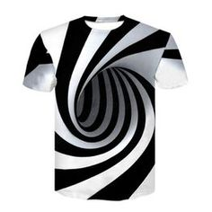 Mode Hommes O-cou confortable T-Shirt occasionnels Casual Impression  numérique chemises manches courtes 7e1f4d21dc72
