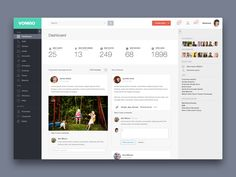 20 Examples of Beautifully #Designed Admin #Dashboards #Design