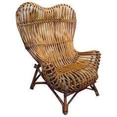 Vintage Gala Chair by Franco Albini | From a unique collection of antique and modern lounge chairs at http://www.1stdibs.com/furniture/seating/lounge-chairs/