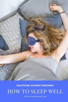 How to find solutions against insomnia, how to sleep well like before? I give you all my advice, as a good sleeper who went through a period of bad sleep. Sleeping Pills, Trouble Sleeping, Good Sleep, Sleep Well, 8 Hours Of Sleep, Sleep Medicine, Sweet Night, Before Sleep, Going To The Gym