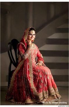 Pakistani Bridal dress  #pakistaniwedding, #southasianwedding, #shaadibazaar
