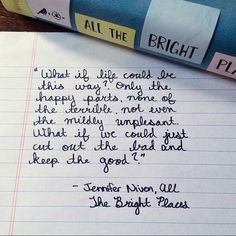All the Bright Places ♥