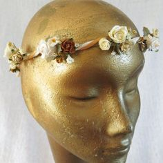 Karisma Bridal Crown by Blooming Loopy