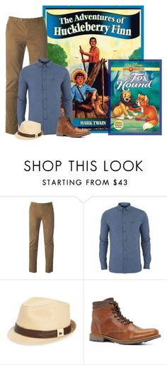 """""""Disney Chracter to a Book contest"""" by shanasark ❤ liked on Polyvore featuring Ted Baker, Lyle & Scott, New Era, ALDO, men's fashion and menswear"""