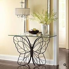 Butterfly Console Table From Pier 1. I Have This And Itu0027s Absolutely  Gorgeous! | Want | Pinterest | Console Tables, Consoles And Butterfly