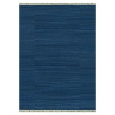 Wool flatweave rug with a tonal stripe motif.   Product: RugConstruction Material: 100% WoolColor: De...