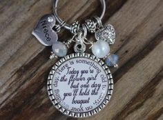 Niece Gifts, Auntie Gifts, Bff Gifts, Best Friend Gifts, Bride Gifts, Gifts For Friends, Gifts For Mom, Flower Girl Jewelry, Flower Girl Gifts