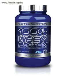 Fitwebshop.hu - 100% Whey Protein - Scitec Nutrition