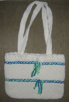 New+design+crochet | New Boutique Design Crocheted Hand Bag