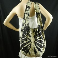 Hey, I found this really awesome Etsy listing at http://www.etsy.com/listing/66654834/black-tie-dye-bag-purse-sling-messenger