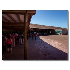 Postcard Iguaçu National Park Queue line Brazil Cartes Postales