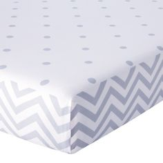 Circo® Duo Modern Print Fitted Crib Sheet