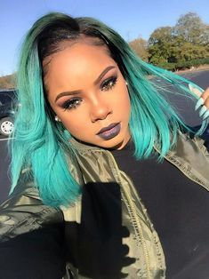2017 Spring & Summer Hair Color Trends For Black & African American Women. Reinvent yourself this summer by stepping up your hair game with a brand new hair shade. Weave Hairstyles, Pretty Hairstyles, Bob Hairstyle, Natural Hair Styles, Short Hair Styles, Short Human Hair Wigs, Bob Lace Front Wigs, Hair Laid, American Women