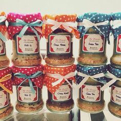 Cheesecake in a jar by @mydouces. Follow our Instagram, Twitter & Fb page @indohomemade for more Indonesian homemade food.