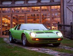 1969 Lamborghini Miura P400S Sprint Veloce
