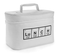 For the Geekette in me. Periodic Lunch Bag | ThinkGeek