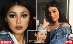 Korean YouTube star transforms herself into Kylie Jenner #DailyMail