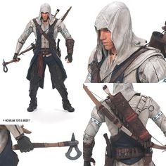 Assassin's Creed figurine from Todd McFarlane
