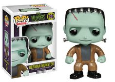 The Munsters - Herman Munster Pop! The Munsters are back with these awesome Pop! Collect all of the key members of the beloved spooky family from the 1964 television program. Herman Munster, The Munsters, Munsters Grandpa, Pop Vinyl Figures, Funko Pop Figures, Lily Munster, Toy Art, King Kong, Hades