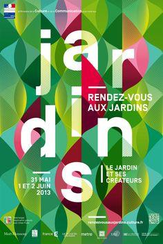Poster Rendez-vous aux Jardins 2013