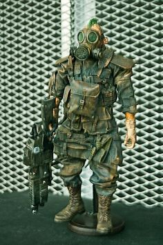 ... Post Apocalyptic Soldier + DIY weapon - OSW: One Sixth Warrior Forum