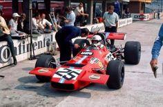 Brian Redman - Frank Williams Racing Cars - De Tomaso 505 - motor Ford Cosworth V 8 1970 Hockenheim