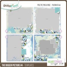 The Bigger Picture #4 Templates