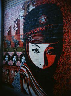 Amazing mural in Austin,TX