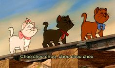 The Aristocats, everybody wants to be a cat, because the cat's the only cat, who knows where it's at.